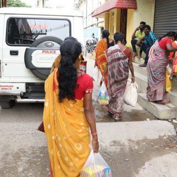 Covid Relief Work Tiruvallur john joseph foundation (1)