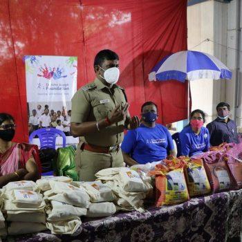 Covid Relief Work Tiruvallur john joseph foundation (14)