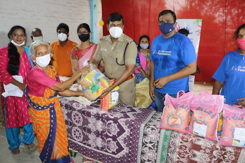 Covid Relief Work 2021 – Ikkadu – Tiruvallur