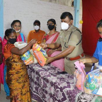 Covid Relief Work Tiruvallur john joseph foundation (17)